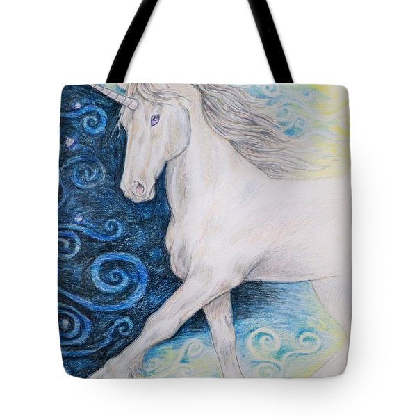 Bringer Of The Dawn Tote Bag by Beth Clark-McDonal
