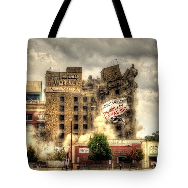 Bringing Down The House Tote Bag