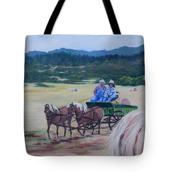 Bringing In The Harvest Tote Bag