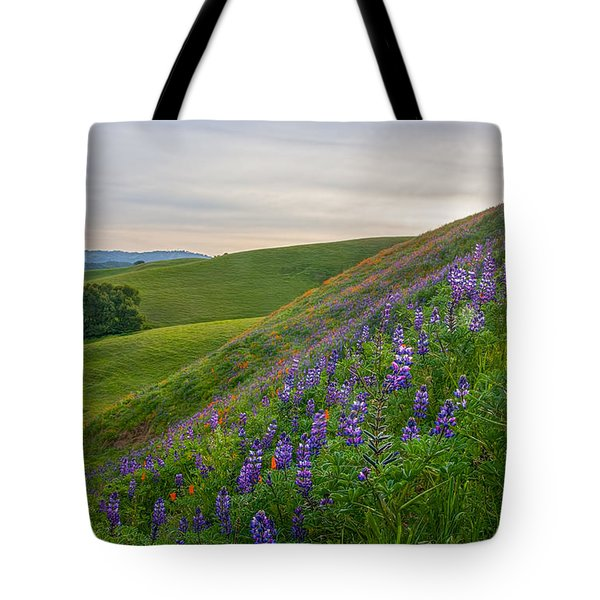 Briones Wildflowers Tote Bag by Marc Crumpler
