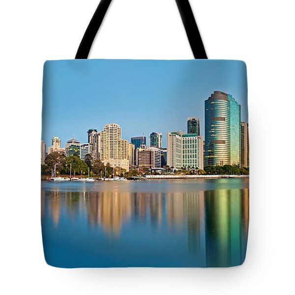 Brisbane City Reflections Tote Bag