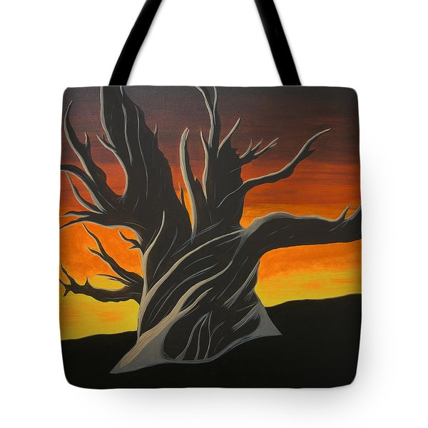 Bristle Cone Pine At Dusk Tote Bag by Drew Shourd