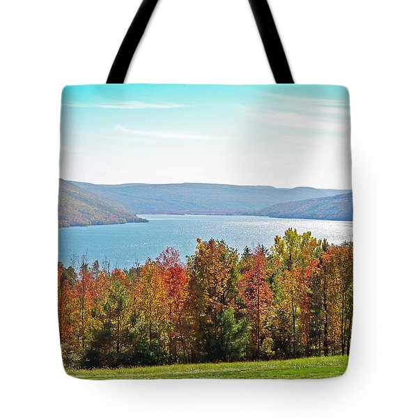 Bristol Harbour View Tote Bag