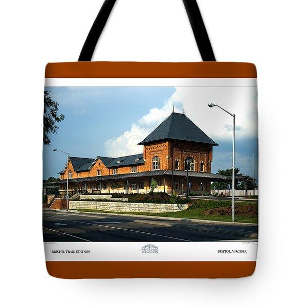 Bristol Train Station Bristol Virginia Tote Bag