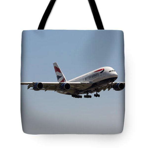 British Airways A380 Tote Bag