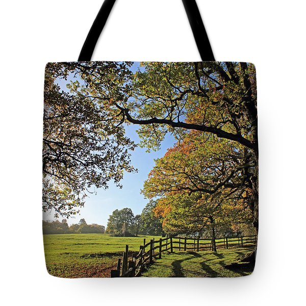British Autumn Tote Bag