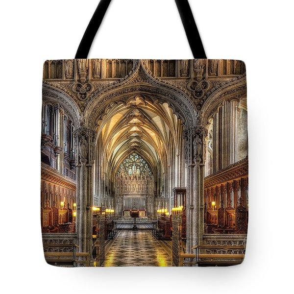 British Church Tote Bag by Adrian Evans