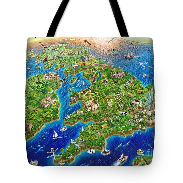 British Isles Tote Bag
