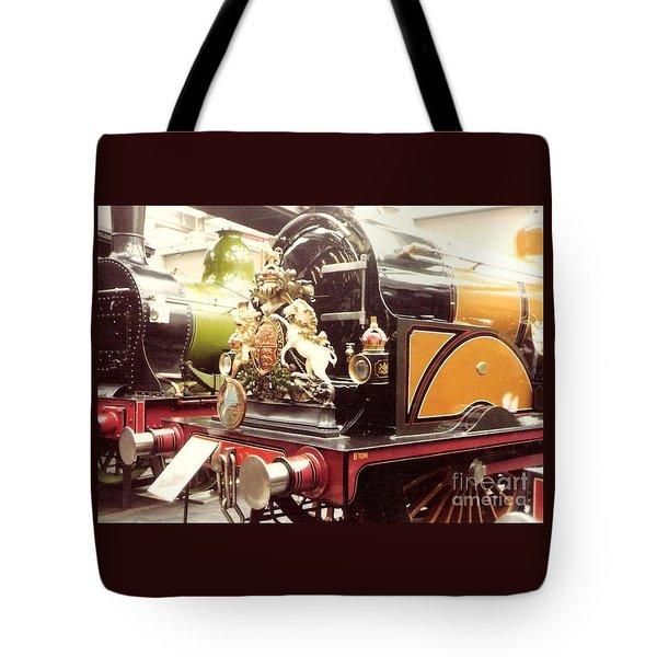 British Royal Engine Tote Bag by Susan Williams