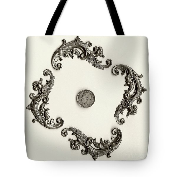 British Shilling Wall Art Version 1 Tote Bag by Joseph Baril