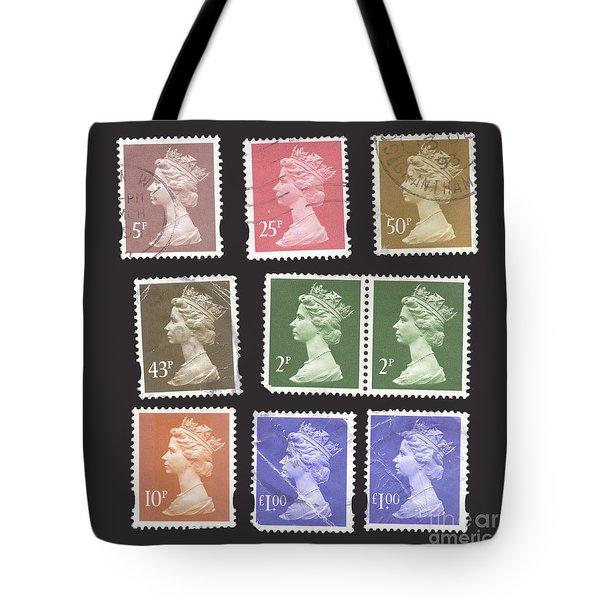 British Stamps  Tote Bag