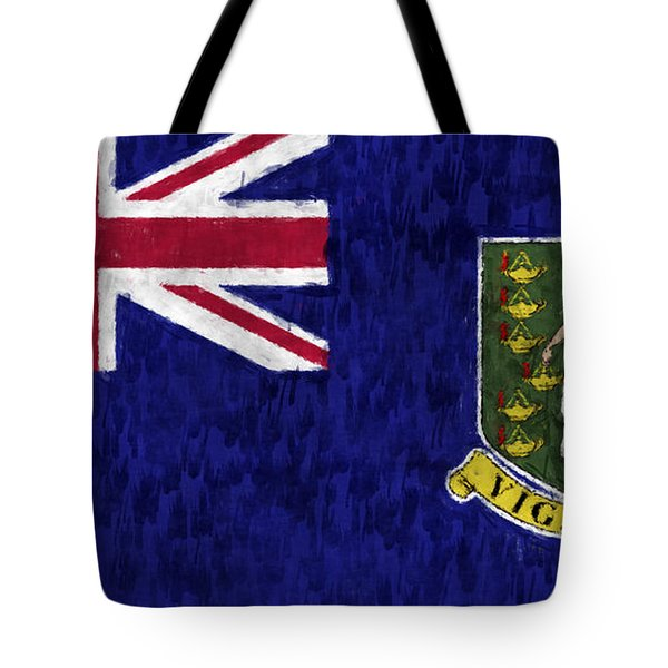 British Virgin Islands Flag Tote Bag