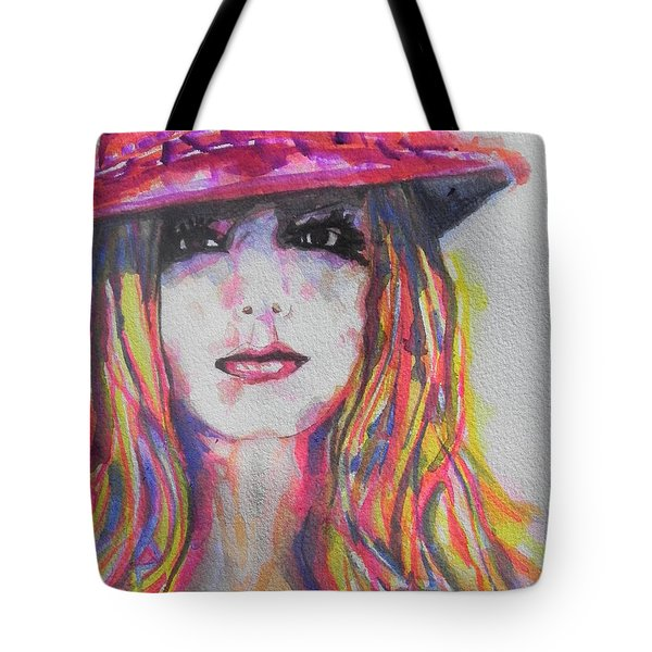 Britney Spears Tote Bag by Chrisann Ellis