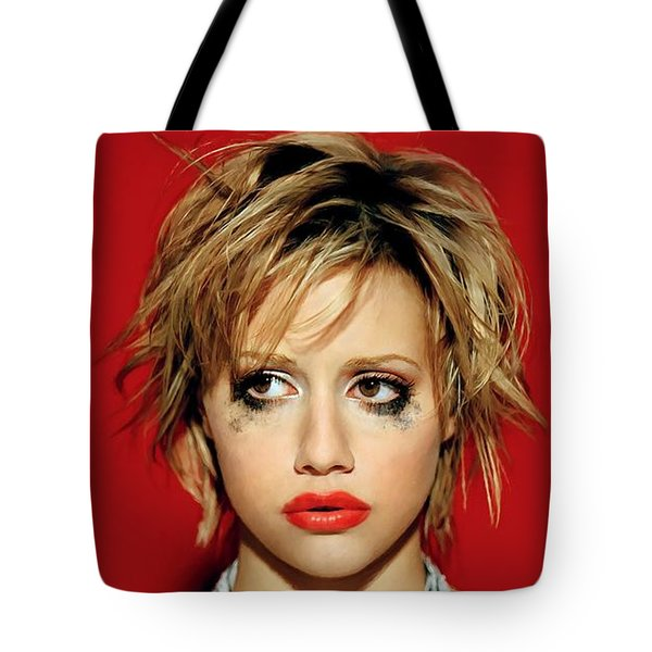 Brittany Murphy Tribute Tote Bag
