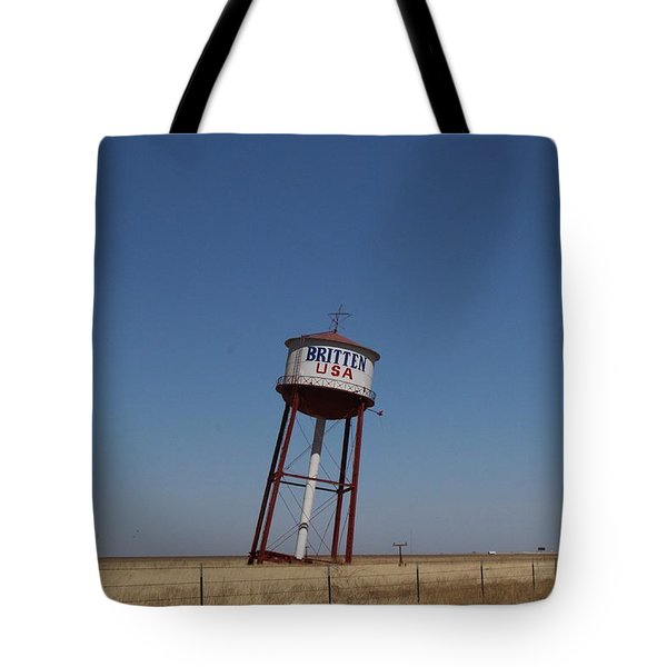 Britten Usa Tote Bag by Suzanne Lorenz