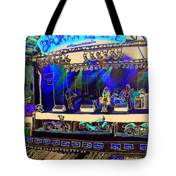 Broadband At The Broken Spoke Saloon Tote Bag