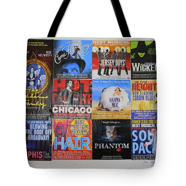 Broadway's Favorites Tote Bag