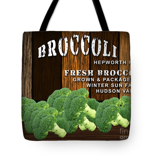Broccoli Farm Tote Bag