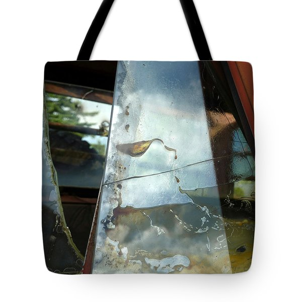 Tote Bag featuring the photograph Broke by Newel Hunter