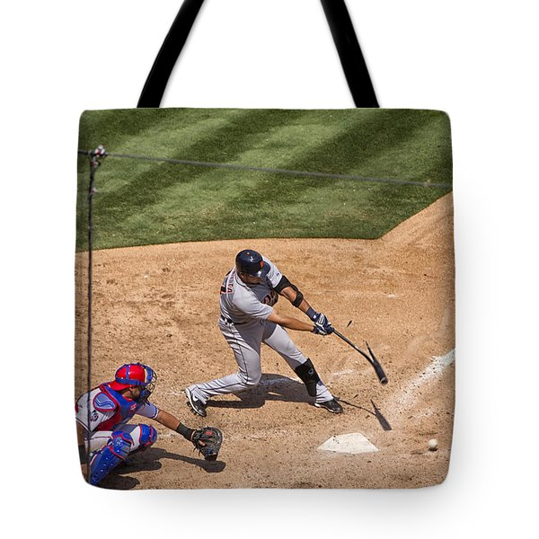 Broken Bat Tote Bag