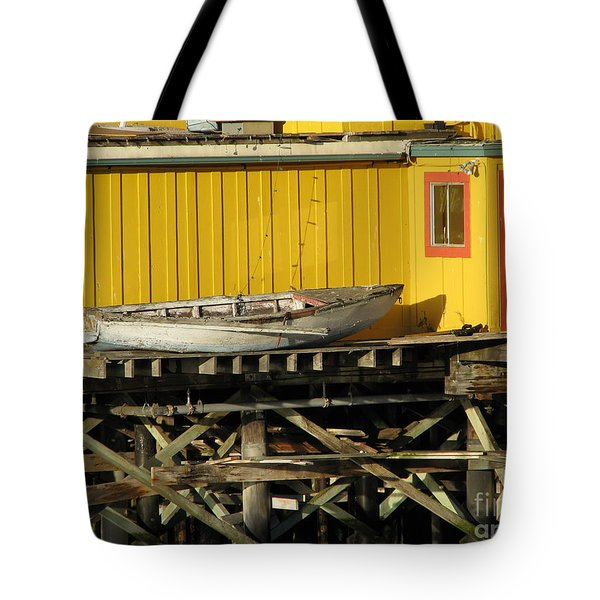 Broken Boat Fisherman's Wharf Tote Bag