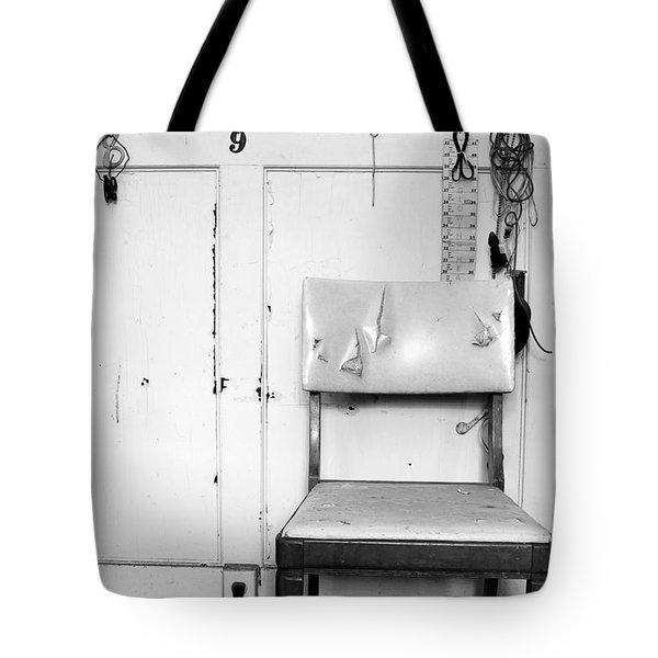 Broken Chair Tote Bag by Carsten Reisinger