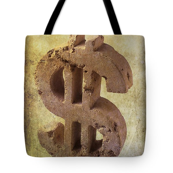 Broken Dollar Sign Tote Bag