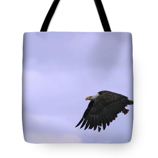 Broken Feather Eagle Tote Bag by Kym Backland