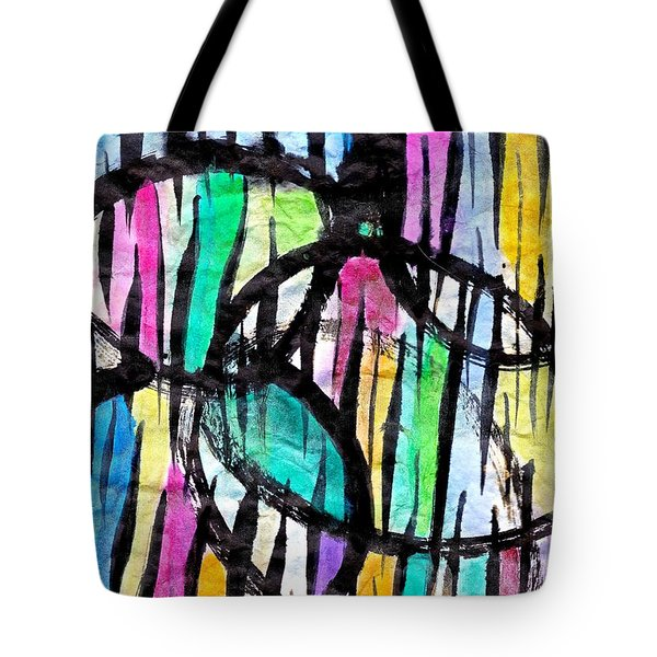 Broken Fences Tote Bag