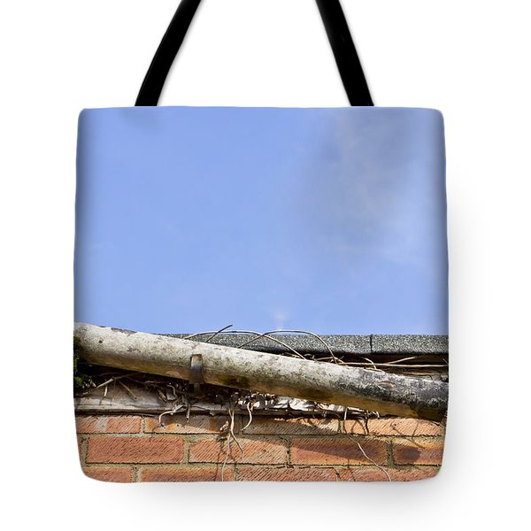 Broken Gutter Tote Bag by Tom Gowanlock