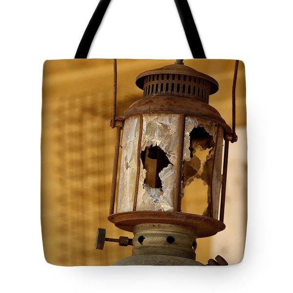 Broken Lantern Tote Bag by Art Block Collections