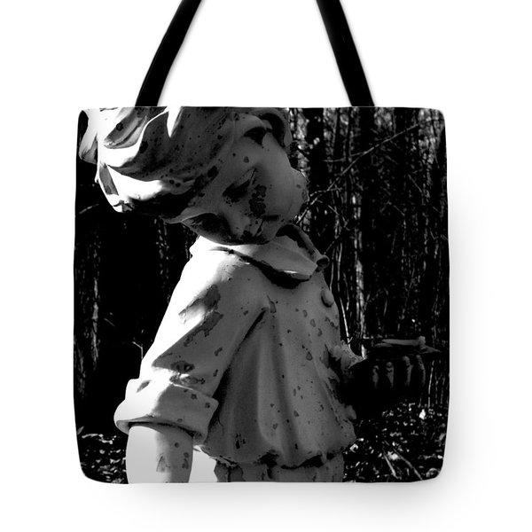 Broken Memorial Tote Bag by Kristie  Bonnewell