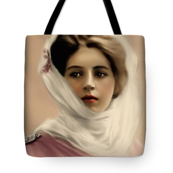 Tote Bag featuring the painting Broken Promises by Isabella Howard