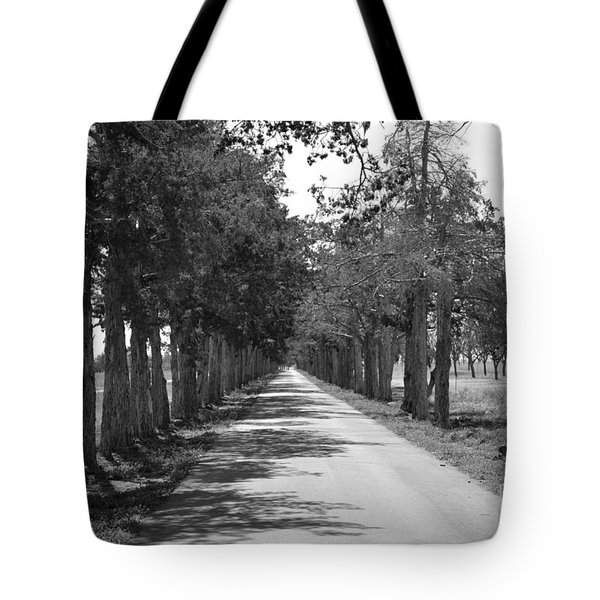 Broken Road Tote Bag