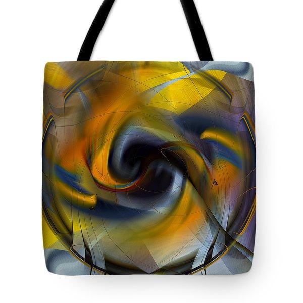 Broken Shield 2 - Abstract Tote Bag