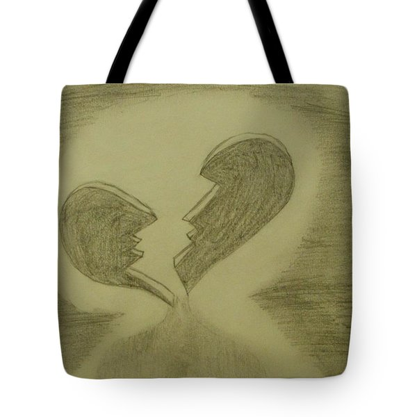 Broken Tote Bag by Thomasina Durkay