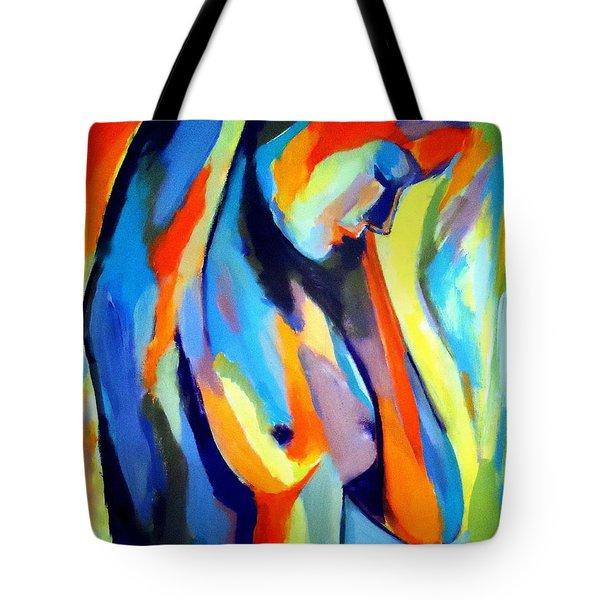 Broken Woman Tote Bag by Helena Wierzbicki