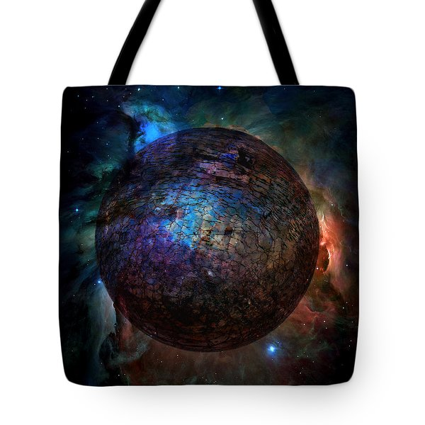 Broken World Tote Bag by Deena Stoddard