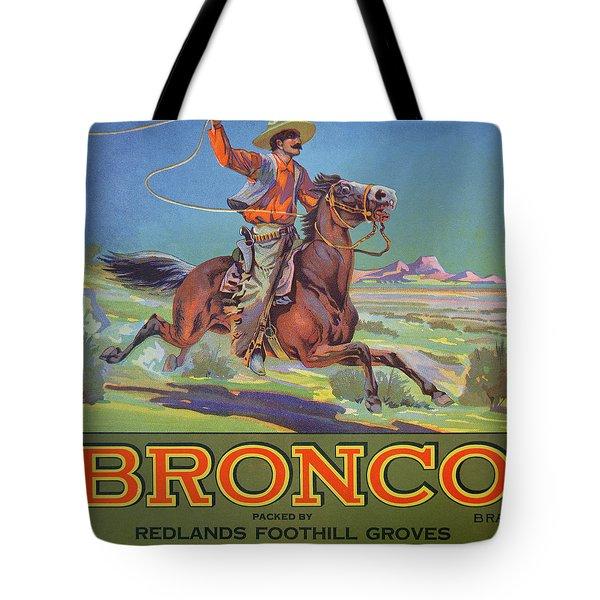 Bronco Oranges Tote Bag