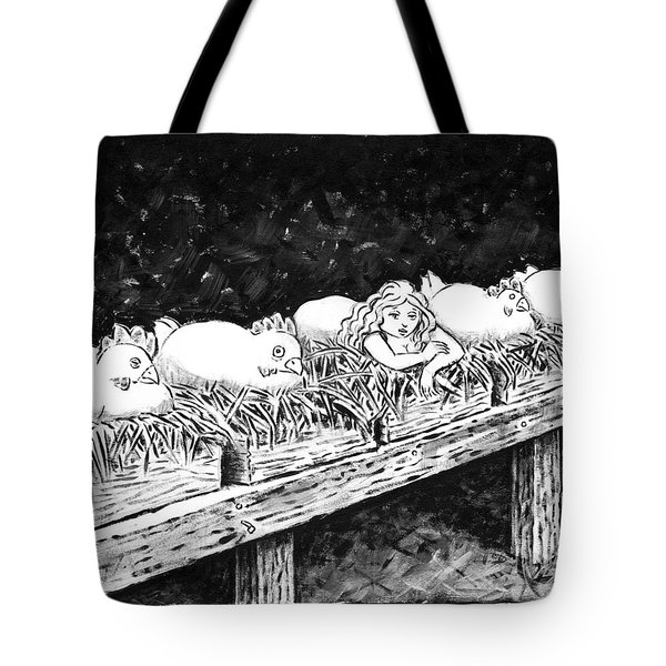 Broody Study Tote Bag