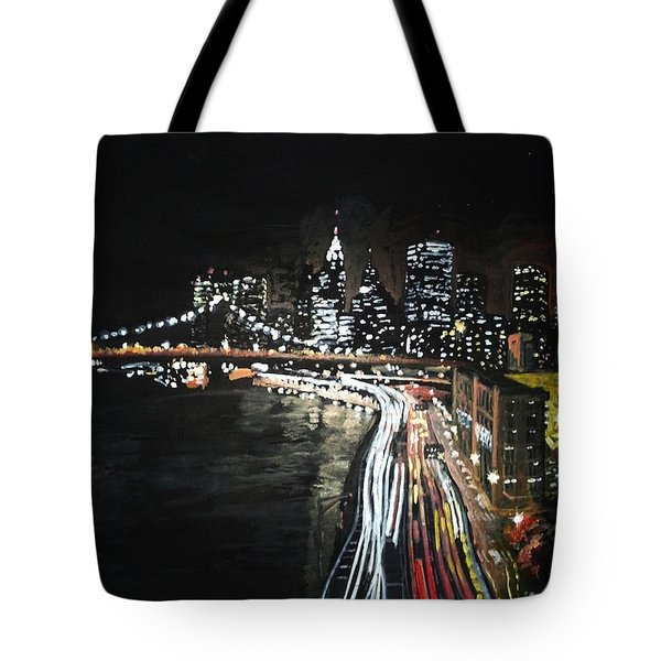 Tote Bag featuring the painting FDR by Jennifer Hotai