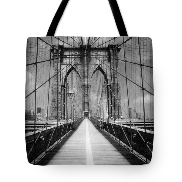 Brooklyn Bridge Infrared Tote Bag