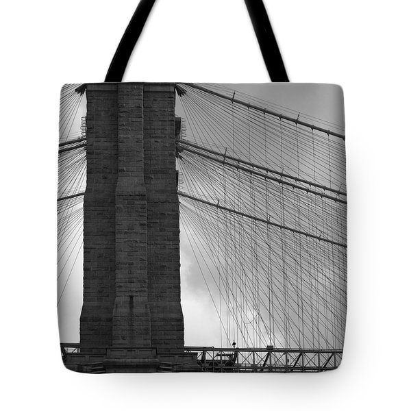 Brooklyn Bridge Side View Tote Bag