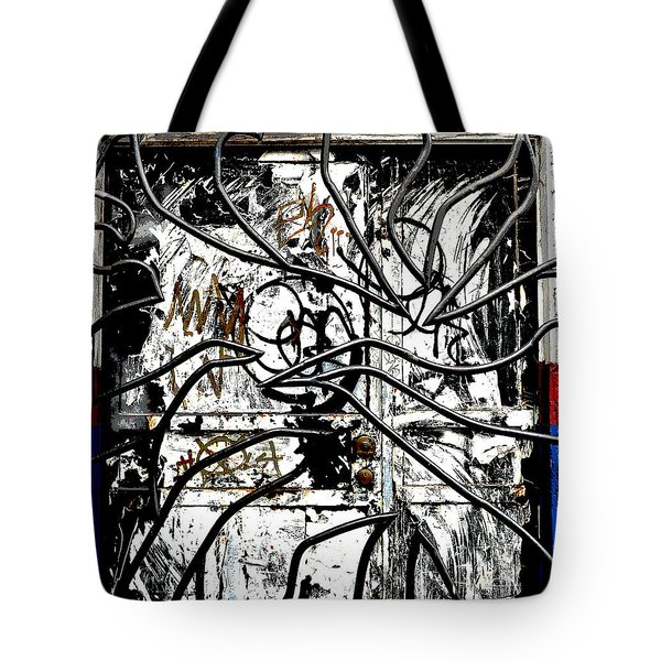 Broome Street Found Art Nyc Tote Bag