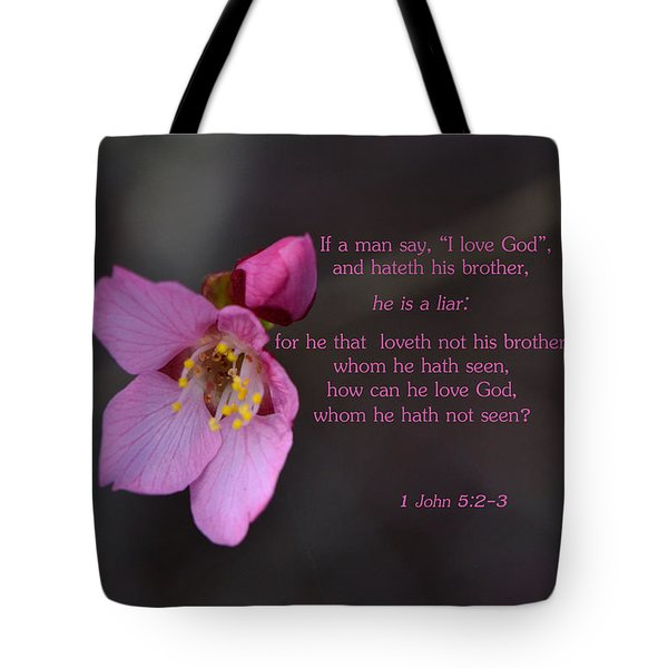 Brotherly Love Tote Bag by Larry Bishop