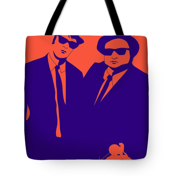 Brothers Poster Tote Bag