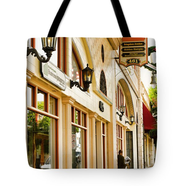 Brown Bros Building Tote Bag