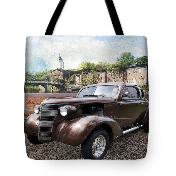 Brown Classic Collector Tote Bag by Liane Wright