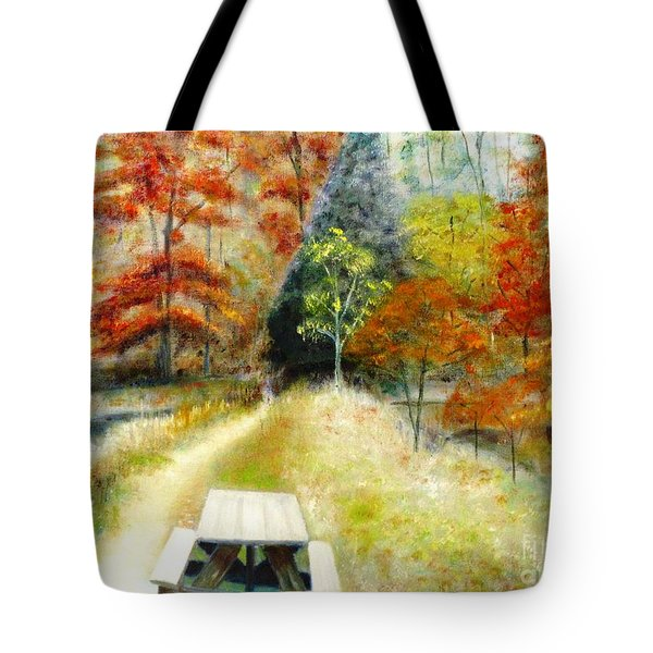 Brown County Tote Bag