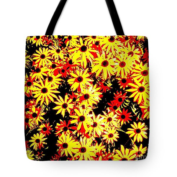 Tote Bag featuring the photograph Brown Eyed Susans I by Peter Gumaer Ogden